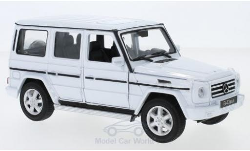 Mercedes Classe G 1/24 Welly white diecast model cars