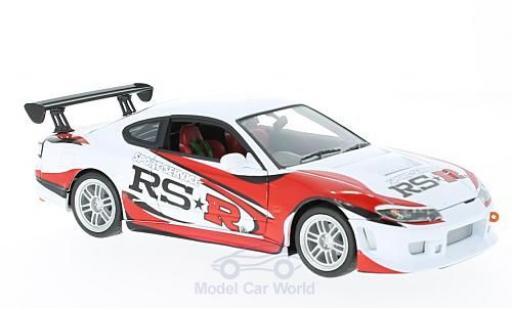 Nissan Silvia 1/24 Welly S15 -R blanche/Dekor RHD miniature