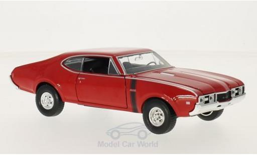Oldsmobile 442 1/24 Welly rouge 1968 miniature