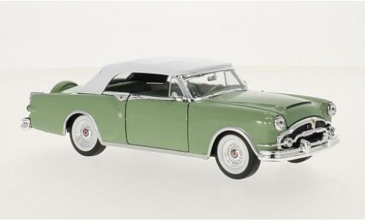 Packard Caribbean 1/24 Welly green 1953 ouverts/es Verdeck sans Vitrine diecast model cars