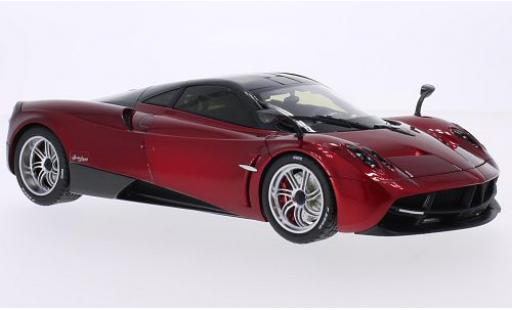 Pagani Huayra 1/18 Welly metallise red/carbon GTA Edition diecast model cars