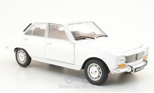 Peugeot 504 1/24 Welly blanche 1975 ohne Vitrine miniature