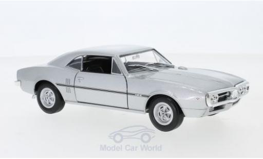 Pontiac Firebird 1/24 Welly grise 1967 miniature