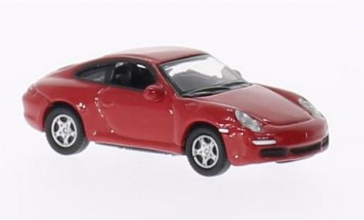 Porsche 997 S 1/87 Welly 911  Carrera rosso modellino in miniatura