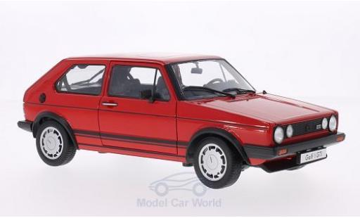 Volkswagen Golf V 1/18 Welly I GTI rosso 1982 modellino in miniatura