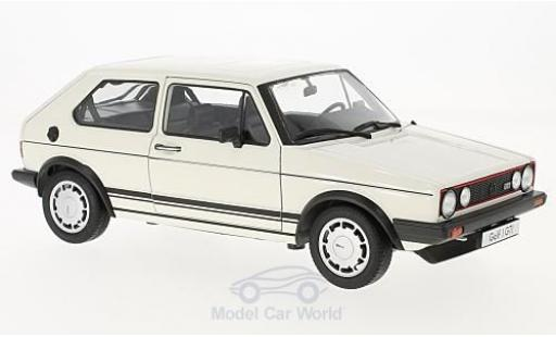 Volkswagen Golf V 1/18 Welly I GTI weiss 1982 modellautos