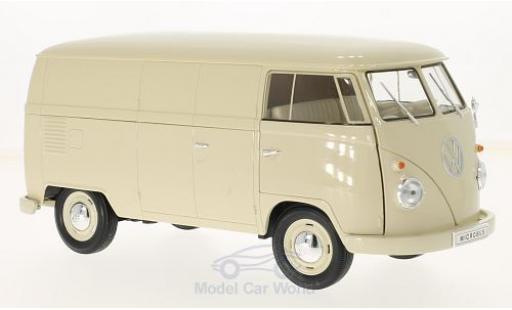 Volkswagen T1 B 1/18 Welly beige 1963 Kastenwagen diecast model cars