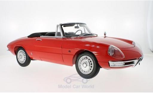 Alfa Romeo 1600 1/18 WhiteBox Duetto Spider rouge 1966 ca 52cm lang 25cm breit ohne Vitrine miniature