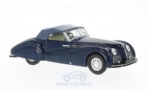Alfa Romeo 6C 2500 1/43 WhiteBox SS Spider bleue/grise 1939 miniature