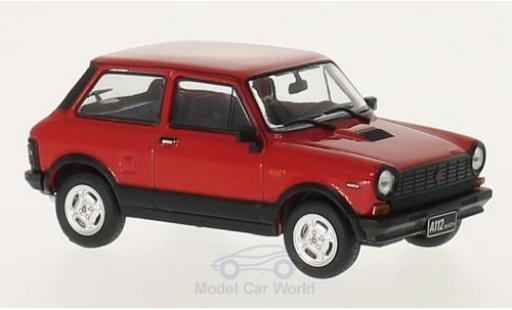 Autobianchi A112 1/43 WhiteBox Abarth rouge/noire 1979 miniature