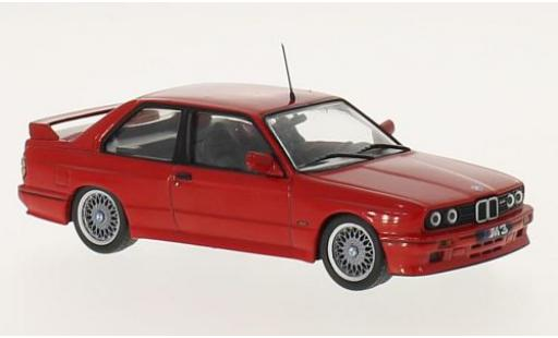 Bmw M3 1/43 WhiteBox (E30) Sport Evolution rosso 1989 modellino in miniatura