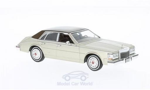 Cadillac Seville 1/43 WhiteBox MK II Elegante metallise beige/marron 1980 miniature