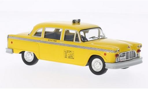 Checker Marathon 1/43 WhiteBox New York 1980 Taxi modellino in miniatura