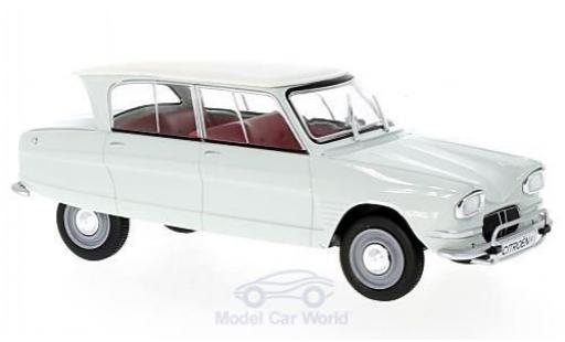 Citroen Ami 6 1/24 WhiteBox AMI 6 verte/blanche 1961 miniature