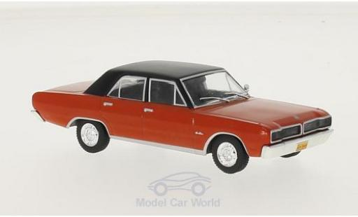 Dodge Charger 1/43 WhiteBox R/T rouge/noire 1975 miniature