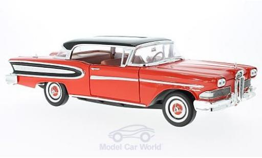 Ford Edsel 1/18 WhiteBox Citation rouge/noire 1960 miniature