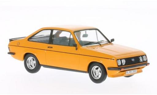 Ford Escort 1/43 WhiteBox II RS 2000 orange 1978 miniature