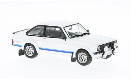 Ford Escort 1/43 WhiteBox MK II RS 1800 blanche 1976 miniature