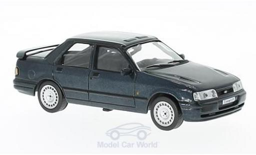 Ford Sierra Cosworth 1/43 WhiteBox Cosworth metallic-dunkelgrise 1990 miniature