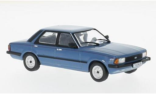 Ford Taunus 1/43 WhiteBox TC2 Brillant bleue 1982 miniature