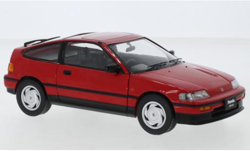 Honda CR-X 1/24 WhiteBox rouge RHD 1987 miniature
