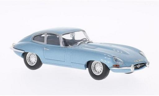 Jaguar E-Type 1/43 WhiteBox metallise bleue 1961 miniature
