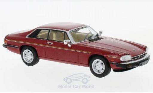 Jaguar XJ 1/43 WhiteBox -S rouge 1982 miniature