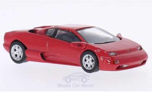 Lamborghini Acosta 1/43 WhiteBox rouge miniature