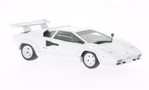 Lamborghini Countach 1/43 WhiteBox LP400 S blanche 1978 miniature