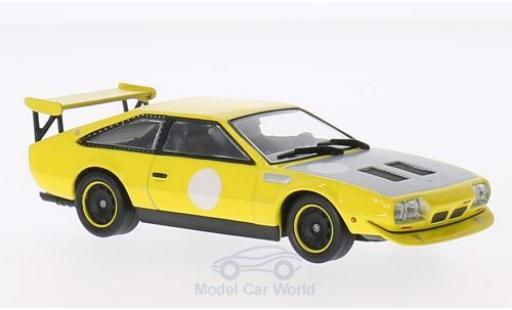 Lamborghini Jarama 1/43 WhiteBox Rally jaune 1973 miniature
