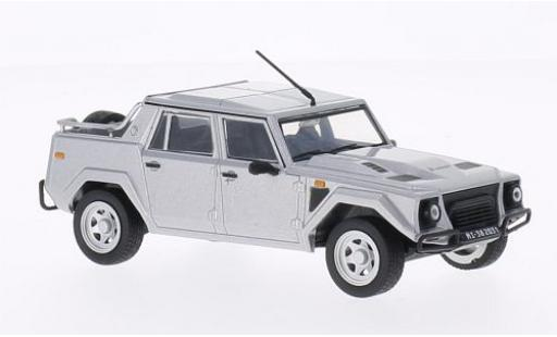 Lamborghini LM 1/43 WhiteBox 002 grise 1986 miniature