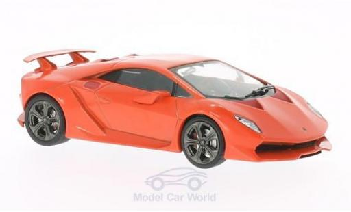 Lamborghini Sesto Elemento 1/43 WhiteBox rouge 2010 miniature