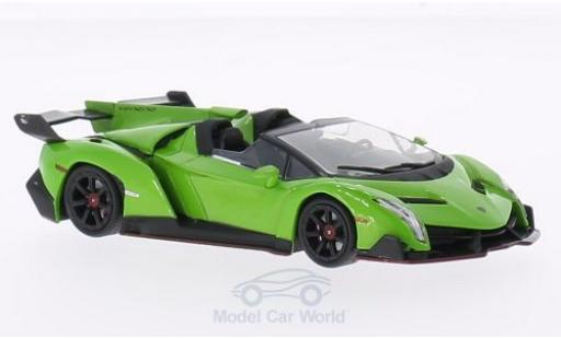 Lamborghini Veneno 1/43 WhiteBox Roadster grün 2013 miniature