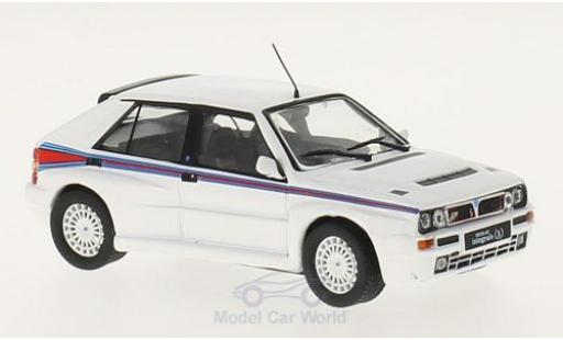 Lancia Delta 1/43 WhiteBox Integrale Martini white/Dekor 1992 diecast model cars