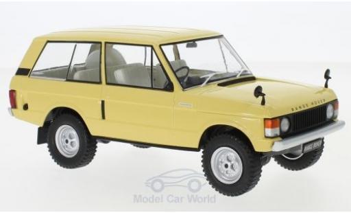 Land Rover Range Rover 1/24 WhiteBox 3.5 V8 beige 1972 miniature