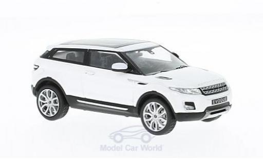 Land Rover Range Rover 1/43 WhiteBox Evoque Coupe blanche 2011 miniature