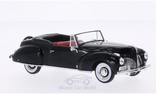 Lincoln Continental 1/43 WhiteBox noire 1939 miniature
