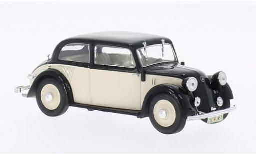 Mercedes 130 1/43 WhiteBox (W23) beige/noire 1934 miniature