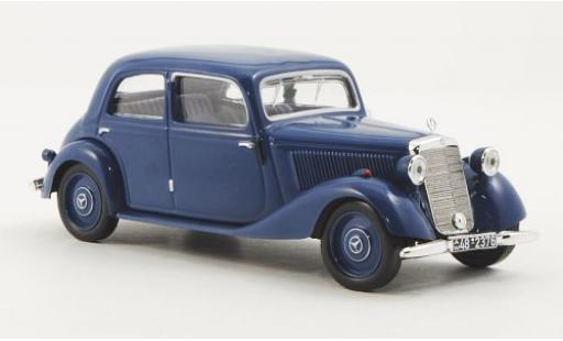 Mercedes 170 1/43 WhiteBox V (W136) bleue 1949 sans Vitrine miniature