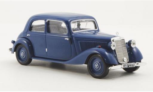 Mercedes 170 1/43 WhiteBox V (W136) blue 1949 sans Vitrine diecast model cars