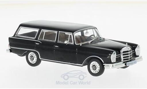 Mercedes 230 1967 1/43 WhiteBox S Universal noire miniature