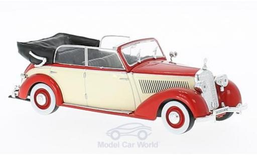 Mercedes 230 1/43 WhiteBox (W153) Cabriolet rouge/beige 1939 miniature