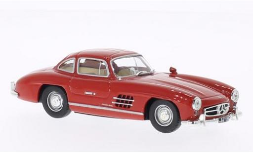 Mercedes 300 1/43 WhiteBox SL (W198) rouge 1954 miniature
