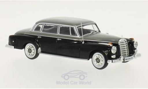 Mercedes 300 S 1/43 WhiteBox d (W189) noire/grise 1957 miniature