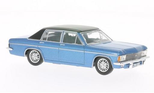 Opel Admiral 1/43 WhiteBox B metallise bleue/noire 1969 miniature
