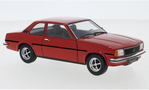 Opel Ascona 1/24 WhiteBox B rouge miniature