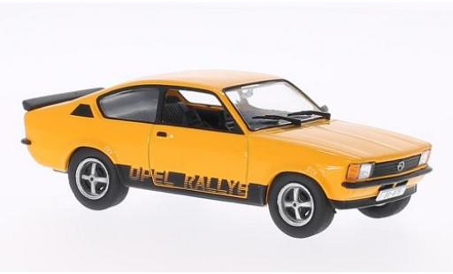 Opel Kadett 1/43 WhiteBox C Rallye orange miniature