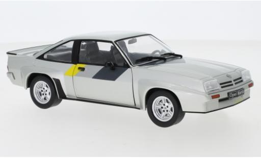 Opel Manta 1/24 WhiteBox B 400 grise 1981 miniature