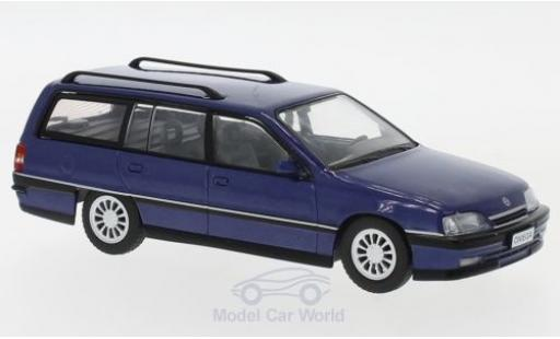 Opel Omega 1/43 WhiteBox A2 Caravan métallisé bleue 1990 miniature