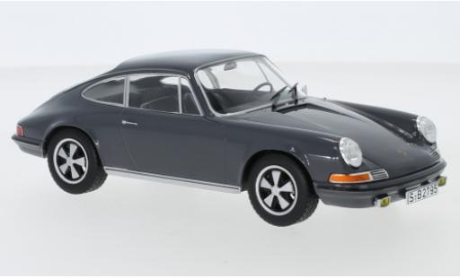 Porsche 911 1/24 WhiteBox S grise 1968 miniature
